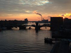 To the canals of Copenhagen.