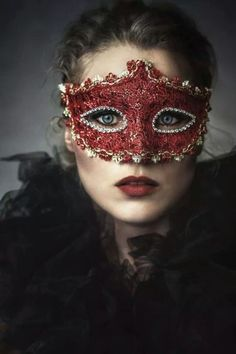 She could be anyone she wanted to be, behind the red mask. #Romance #Desire #Lust #Seduction