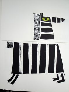 Zebra, from Who Zoo? A collection of animal heads and bodies, written and illustrated by Cyril E. Zebra Kunst, Zebra Art, Zebra Illustration, Afrique Art, Animal Heads, Illustrations And Posters, Art Plastique, Doodle Art, Art Lessons