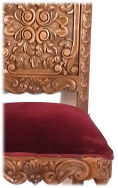 "Hermosa silla estilo ""Barroco"" Avda. Santa Rosa 2173, Castelar  WhatsApp: 1130715691"