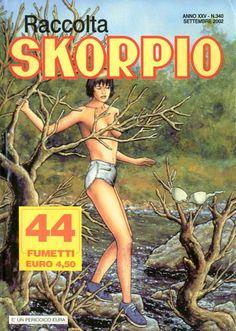 Fumetti EDITORIALE AUREA, Collana SKORPIO RACCOLTA n°340 SEPTEMBRE 2002
