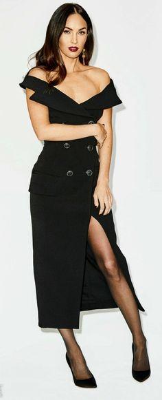 Megan Fox Hot, Megan Denise Fox, Nicole Scherzinger, Tights Outfit, Sexy Skirt, Beauty Women, Fashion Dresses, Style Inspiration, Actresses