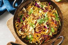 From Chicken Chow Mein to Crunchy Noodle Saladthese quick and easy noodle recipeswill become your fast familyfavourites.