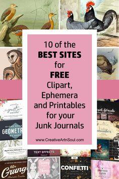 Journal Pages, Junk Journal, Journal Covers, Journal Ideas, Moleskine, Creative Market Free, Glue Book, Creative Journal, Scrapbook Journal