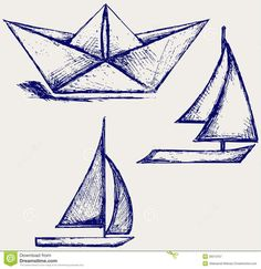 paper boat tattoo - Google Search // for friendship tattoo