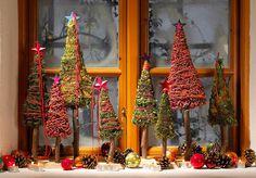 decoracion navidad ventanas