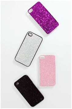 Glitter Cell Phone Covers