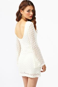 Jane Crochet Dress