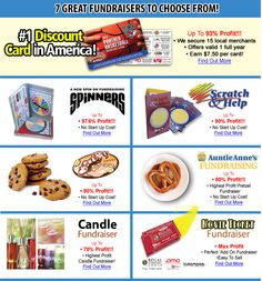 The Discount Card Fundraiser Is One Of Our Most Popular PTA Fundraising Ideas - Earn Up To 93% Profit at http://www.abcfundraising.com/card-fundraising.htm