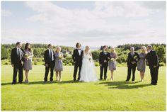 Wedding party David Jenkins - Lisloughrey