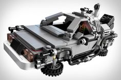 Lego Back to the Future Time Machine