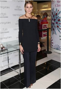 The Olivia Palermo Lookbook : Olivia Palermo At Ciate London Collection Launch At Bloomingdale's in New York City.