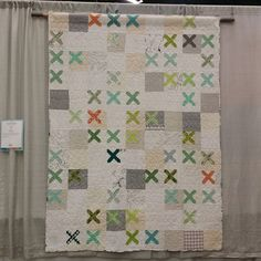 Knit Snippet by Lotje Meijknecht at #quiltcon #quiltcon2015