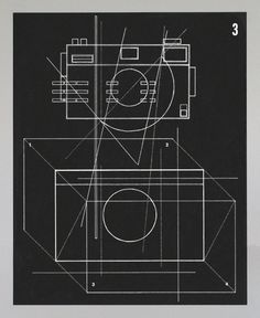 Photo #Camera Diagram 1, 16 x 20 inches #screenprint #print by Ben Kafton. $25