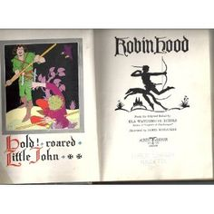 Amazon.com: Robin Hood from the Original Ballad By Ula Waterhouse Echols illustrated By Jame: James, Illustrated By McCracken: Books