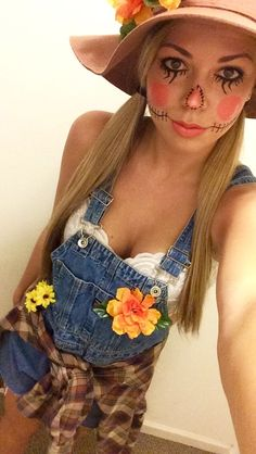 DIY Scarecrow costume #halloween