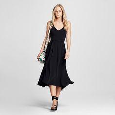 Women's Utility Midi Dress Black Xxl - Who What Wear