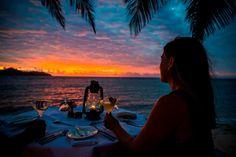 A dreamy Fiji wedding package from Tokoriki Island Resort Hotel Wedding Packages, Island Resort, Fiji, Daydream, Destination Wedding, Around The Worlds, Romance, Sunset, Outdoor