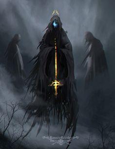 Postmortem Purgatory, Ramses Melendez on ArtStation at https://www.artstation.com/artwork/lraD5