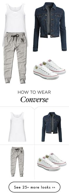 """Trending 585"" by ayannap on Polyvore featuring LE3NO, Zhenzi, Abercrombie & Fitch and Converse"