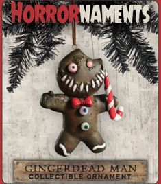 WIth over 70 different Halloween and horror-themed ornaments, you're sure to find something to suit your fancy. Merry Christmas, Dark Christmas, Christmas Crafts, Christmas Decorations, Xmas, Holiday Decor, Halloween Ornaments, Halloween Trees, Halloween 2020