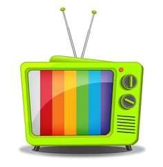 Learn How to Create a Retro TV in Illustrator — SitePoint Camping Crafts For Kids, Retro Roller Skates, Tv Head, Tom Y Jerry, Coffee Music, Build An App, Object Drawing, Adobe Illustrator Tutorials, Tv App