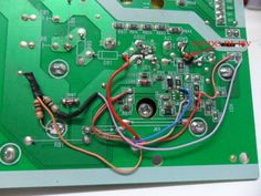 73. Reemplazo de oscilador fuente tv Led   Taller de Electrónica Sony Led Tv, Lcd Television, Electronic Schematics, Lg Tvs, Tv Services, Monitor, Samsung, Electrical Wiring, Audio Amplifier