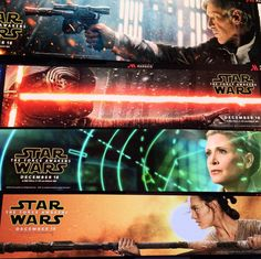STAR WARS: THE FORCE AWAKENS Banners