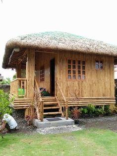 Nipa hut Catanduanes, Philippines
