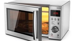 Dirty microwave? Here is our favorite #CleaningTip to remove stuck on stains. Best Convection Microwave, Built In Microwave, House Cleaning Tips, Cleaning Hacks, Clostridium Botulinum, Chicken Crisps, Small Oven, Oven Canning, Toaster Ovens