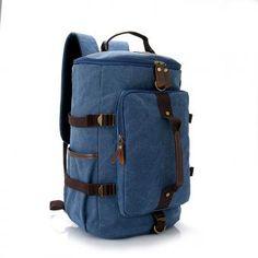 Bolso hombro senderismo lienzo portátil mochila mochila hombres Camping viajes