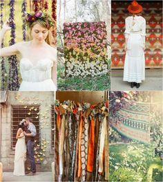 backdrop bohemian wedding