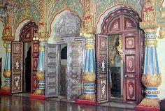 Mysore Palace Doors                                                                                                                                                                                 More Mysore Palace, Mother India, Palace Interior, Om Namah Shivaya, Indian Architecture, People Of Interest, India Tour, Rajasthan India, Karnataka