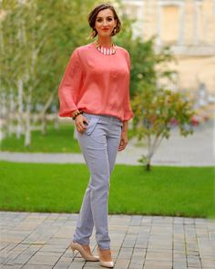 Colors of Love - Pantalon Audrey H. These pants are the sun in a windy office day. Hollywood Divas, Summer Breeze, Slow Fashion, Winter Collection, Feminine, February 2016, Street Style, Special Occasion, Pants