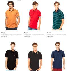 Camisas Polo Masculinas Forum - Muitos modelos e cores << R$ 5100 >>