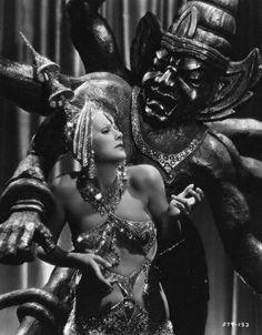 The famed dance from 'Mata Hari'