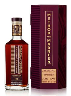 TWO WORLD-FIRST 'METHOD AND MADNESS' EXPRESSIONS ADDED TO THE EXPERIMENTAL IRISH SPIRITS RANGE – Irish Whiskey News Bourbon Barrel, Bourbon Whiskey, Scotch Whisky, Alcohol Spirits, Wine And Spirits, Irish Whiskey Brands, Havana Club Rum, Pernod Ricard, Perrier Jouet