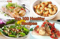 100 Healthy Recipes To Try in 2014 | @KitchMe