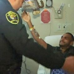 #Orlando shooting survivor Angel Colon meets police officer who dragged him out of Pulse nightclub - ABC Online: ABC Online Orlando…