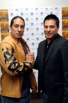 Native American, Lakota, Actors Michael & Eddie Spears