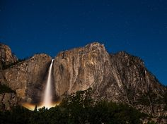 Upper Yosemite Falls, California