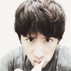 Taka brushing his teeth [2]
