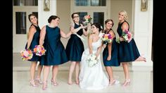 Fun bridesmaid picture. Whitney Wysong Photography
