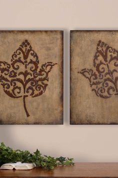 Decorative Leaf Wall Panels