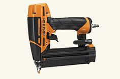 Tools: On Point  Smart Point 18-Gauge Brad Nailer, by Bostitch Ever notice how the contact arm—that safety mechanism wrapped around the nose of most nail guns to prevent you from firing into the air—is so bulky that it blocks you from seeing where your brad will go? So did Bostitch. That's why they built it into the nose, greatly reducing its profile. Hello, Hollywood!  About $120; bostitch.com