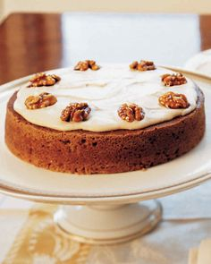 When the holidays roll around and pumpkin pie feels a bit old and stale, try making this cake instead.