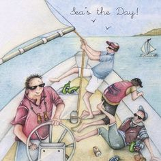 Cards » Sea's the Day » Sea's the Day - Berni Parker Designs