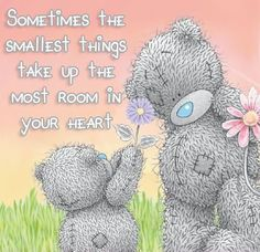 Sometimes the smallest things take up the most room in your ♥