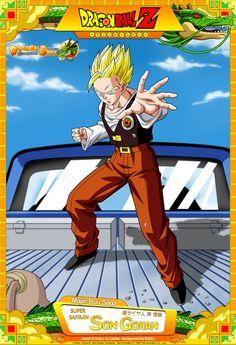 Dragon Ball Z - Super Saiyajin Son Gohan by DBCProject