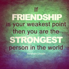 Amazing Friendship Quote